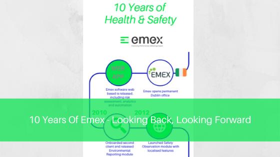 10 years of Emex blog post