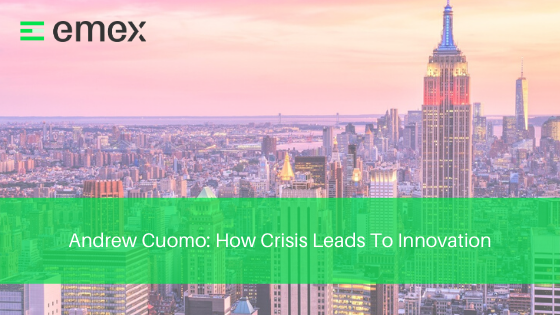 Andrew Cuomo_ How Crisis Leads To Innovation blog post