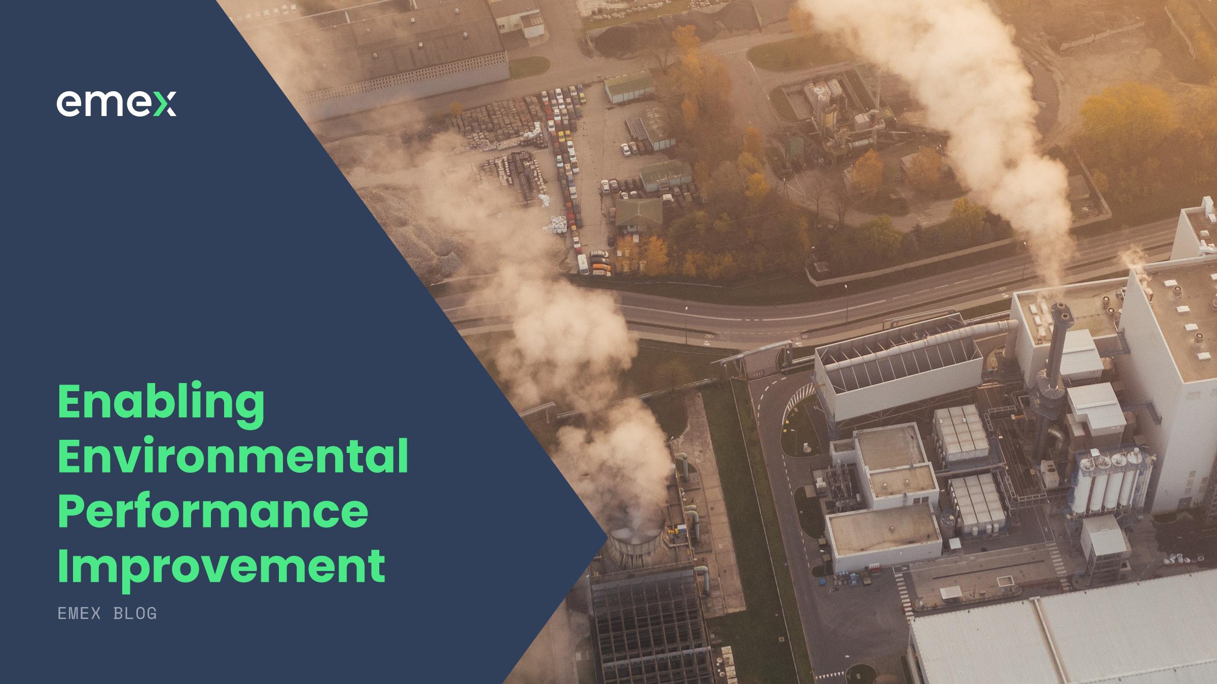 Enabling Environmental Performance Improvement